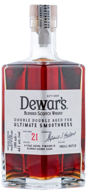 Dewar's Double Double 32 Years Old  Mejor whisky del mundo